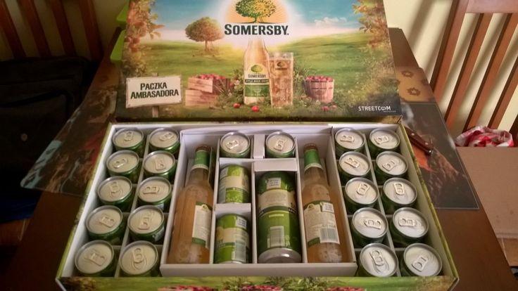 ODKRYJ SOMERSBY! - Paczka Ambasadora Somersby
