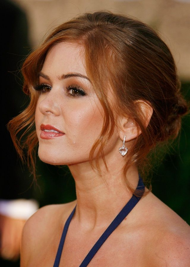 Isla Fisher, new hair color?