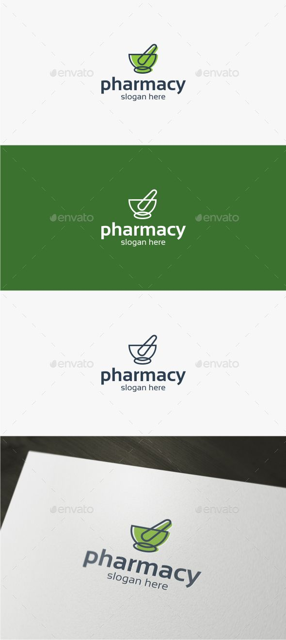 Pharmacy - Logo Template,bio, botanical, brand, chemical, clinic, drug, drugstore, eco, ecology, environment, green, health, herb, herbal, hospital, lab, laboratory, leaf, medical, medicine, natural, pharm, pharmacy, plant, pounder, science, solution