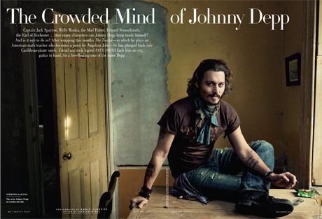 Artistic Johnny Depp: The Women, This Man, Johnny Depp, Vanities Fair, Bugs Bunnies, Annie Leibovitz, Lonely Ranger, Beautiful People, Johnnydepp