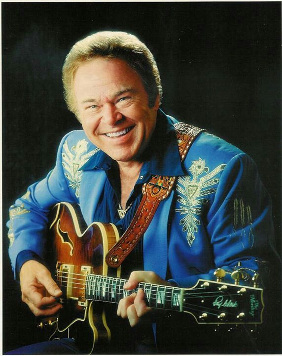 Roy Clark/....Oh! He was such a charmer! and could he play that guitar.