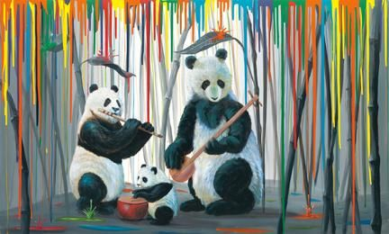 "Michael Summers ""Family Band"" new Fine Art Limited Edition at Exclusive Collections Galleries!"