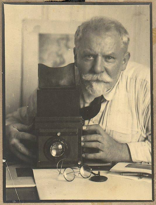 Frank Eugene (1865-1936)  American born, German photographer, founding member of the Photo-Secession, and one of the first university level professors of photography in the world. Self Portrait (1924)