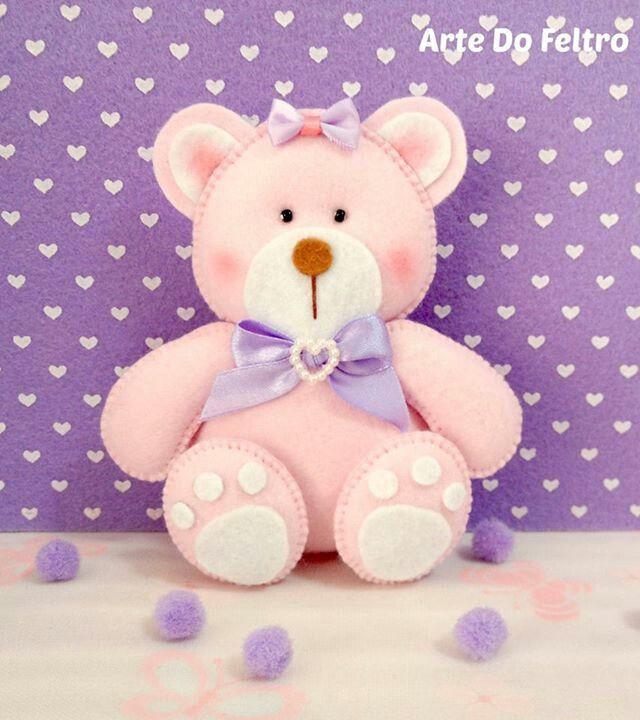 Pink teddy bear...