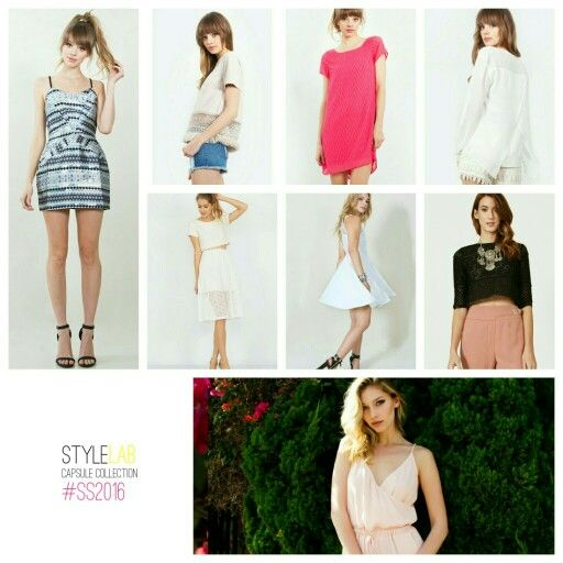 Pop Up In-store  Stylelab SS2016 Capsule Collection Coming To Store Near You...Date & Location Revealed Soon....