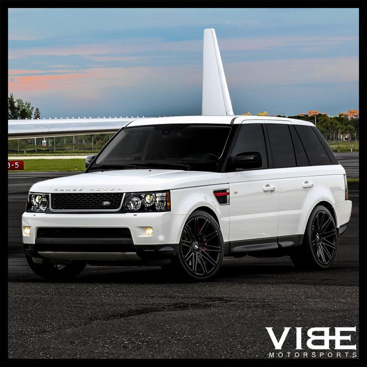 "2012 Land Rover Lr3 Hse: 22"" Xo Milan Black Concave Wheels Rims Fits Range Rover"