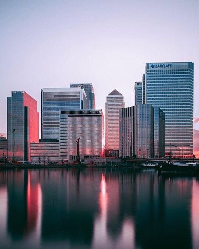 """<--- Follow for more!  """"Don't be trapped by dogma - which is the result of living with other people's thinking"""" - Steve Jobs (Quote from featured's post)  Good Morning Everyone  Hope everyone is doing well on this fine Saturday hopefully it don't rain tomorrow. Let's kick off the day with this fantastic reflection shot of Canary Wharf baked in the Sunset. Just wow that's epic...  Featured Enthusiast: @shoelayce  Chosen By: @MrJoshDeakin   Location: #CanaryWharf  #London_Enthusiast to…"""