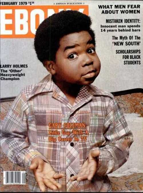 Gary Coleman on the cover of Ebony, February 1979 ...