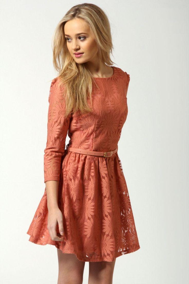 Long Sleeve Cocktail Dress 9