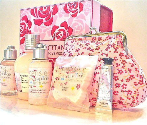 L'Occitane Pink Pamper Gift Box, http://www.amazon.co.uk/dp/B00GL3TBO6/ref=cm_sw_r_pi_awd_XcYHsb1QZ9GXD