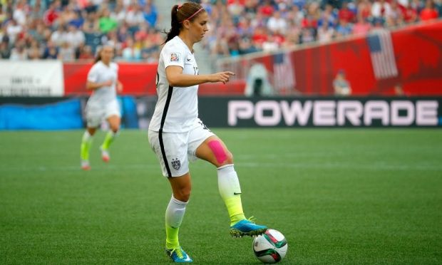 Alex Morgan's return from injury could offer boost to patchy USA attack Alex Morgan  #AlexMorgan