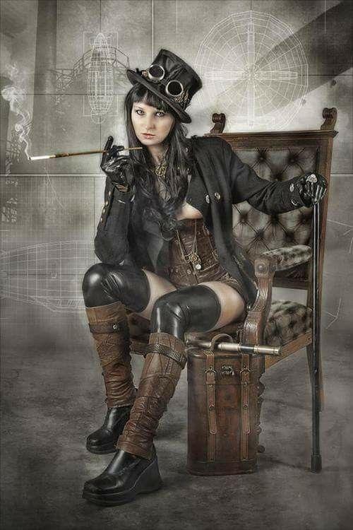 #SteampunkGirl