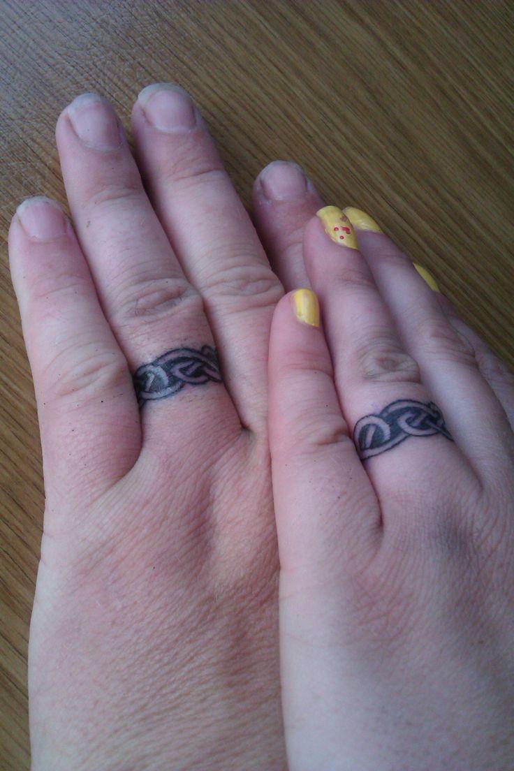 Mine And My Hubbys Everlasting Wedding Rings  Tattoo