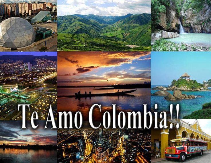 Te amo Colombia.