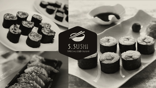 S.Sushi by Jørgen Grotdal, via Behance