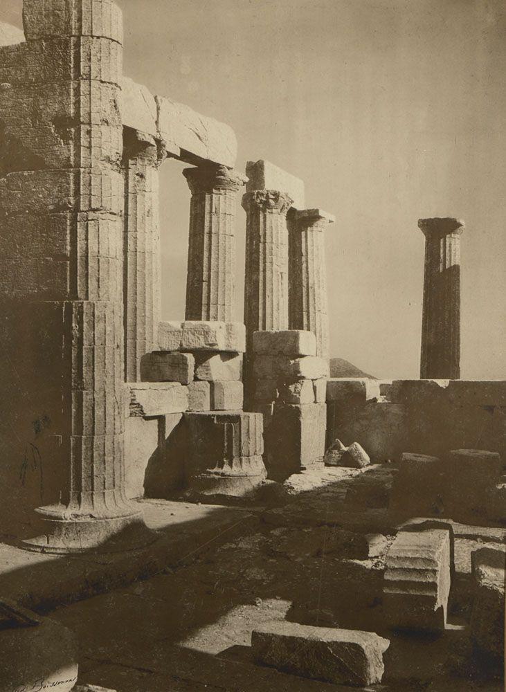 Temple d' Apollon a Phigalie, Bassae, δεκαετία 1900