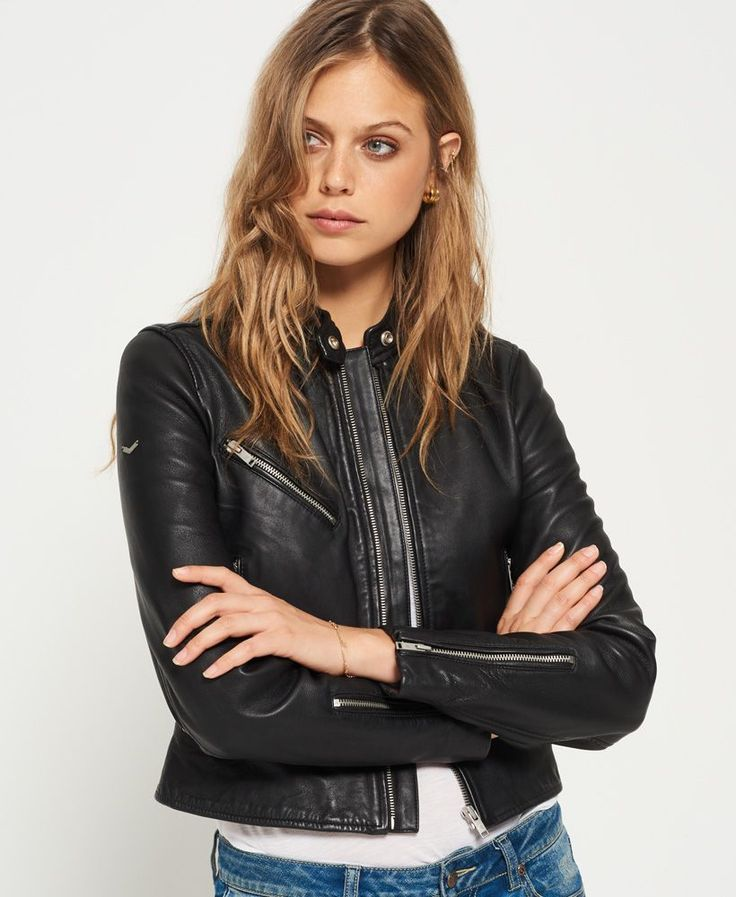 Buy your Superdry Malibu Leather Racer Jacket online now at House of Fraser. Why not Buy and Collect in-store?