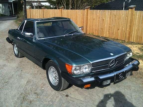 Mercedes benz sl 380 sl 1981 120 000 km kr 83 530 for Mercedes benz 530 sl price