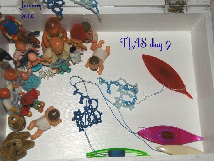 TIAS day 9. I have not idea that it can be the finally result! :)  No tengo idea que pueda ser el resultado final!