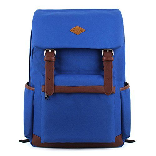 EcoCity Vintage Stlye Cool Backpack for School Casual Laptop Daypack College Back Packs for Men/Women (Blue) EcoCity http://www.amazon.com/dp/B00JAYIQNU/ref=cm_sw_r_pi_dp_oki-vb1JZGNSB