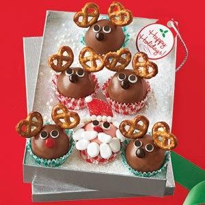 Make a Cute Holiday Dessert: Santa & Reindeer Truffles Recipe | Daily Savings From All You Magazine