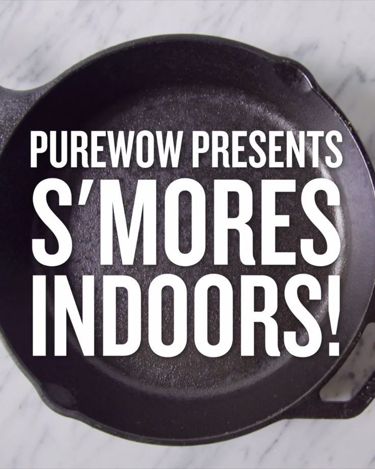 Things we don't love about camping: pitching tents, bug bites and aching backs. Things we do love: s'mores. Learn how to make s'mores indoors here.