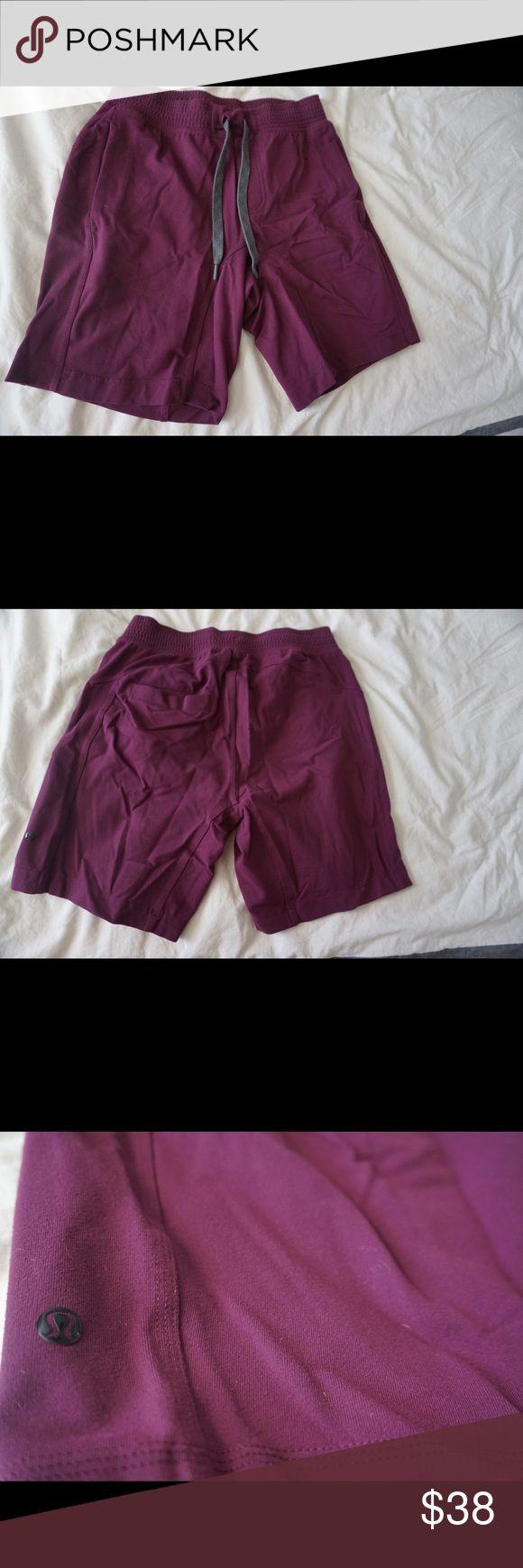 Lululemon Shorts Thicker material Maroon Shorts lululemon athletica Shorts Athletic
