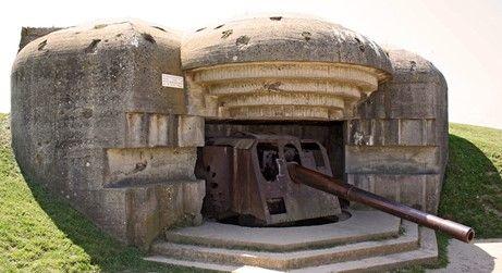 Die deutsche Batterie in Longues-sur-Mer