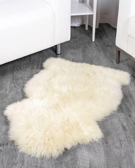 lambskin rug real