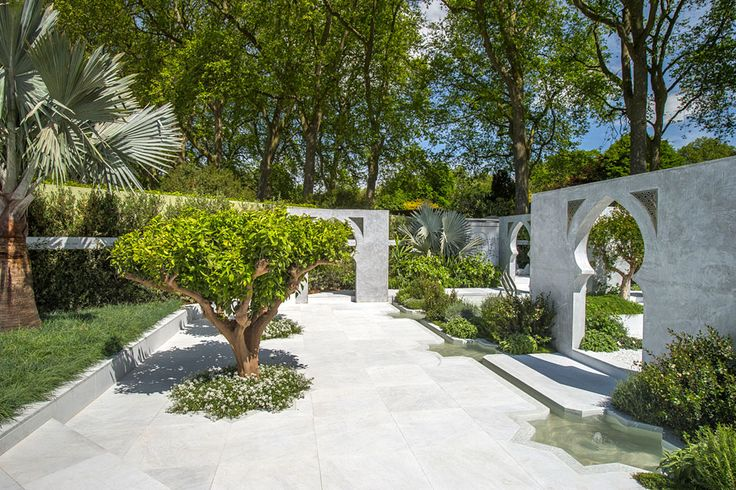 Amazing structures in The Beauty of Islam Garden at the RHS Chelsea Flower Show 2015 / RHS Gardening