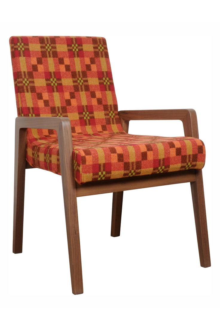 Heal's | Stride Dining Chair By Kay + Stemmer Melin Tregwynt Fabric - Chairs - Chairs & Stools - Furniture