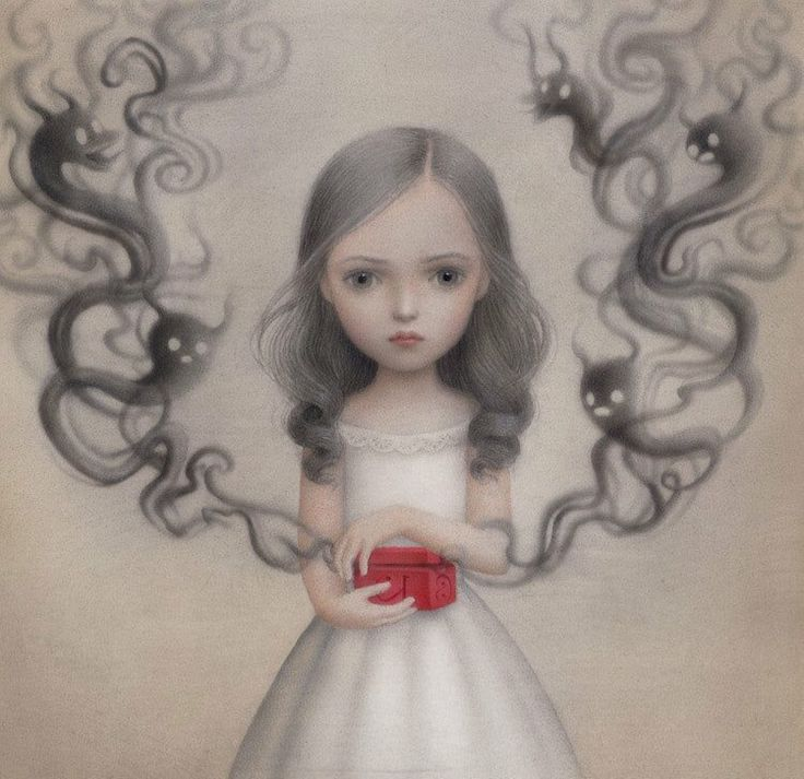 """Dora's Box"" beautiful work from Nicoletta Ceccoli"