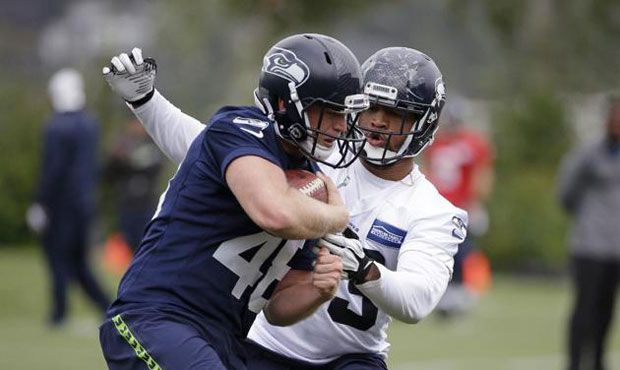 Pete Carroll: Nolan Frese has high-ankle sprain, status for Seahawks' wild-card game unknown