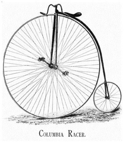 first bicycle, 1885