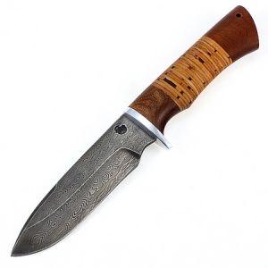 """Нож """"Кайман"""" (дамасская, береста)"""