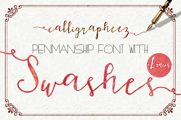 Calligrapheez Font ModernCalligraphy by mycandythemes on Creative Market
