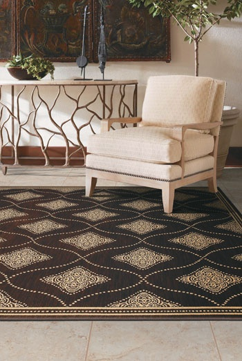 Accessories Make IT Tommy Bahama Rug As Flooring Foundation