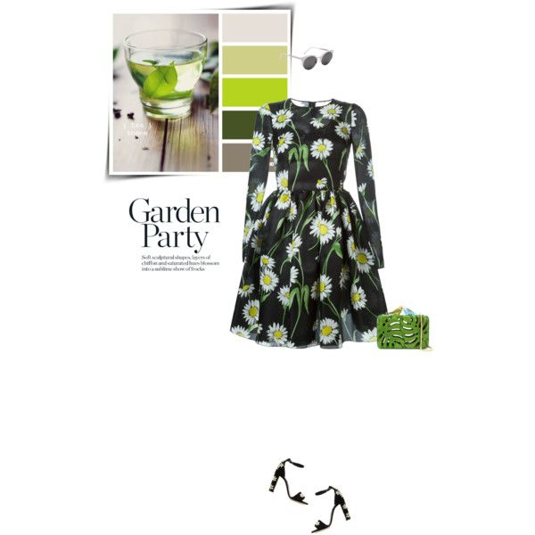 Spring florals (Top Fashion Sets for Apr 3rd, 2016) by sophiek82 on Polyvore featuring Dolce&Gabbana, Sarah's Bag and RetroSuperFuture