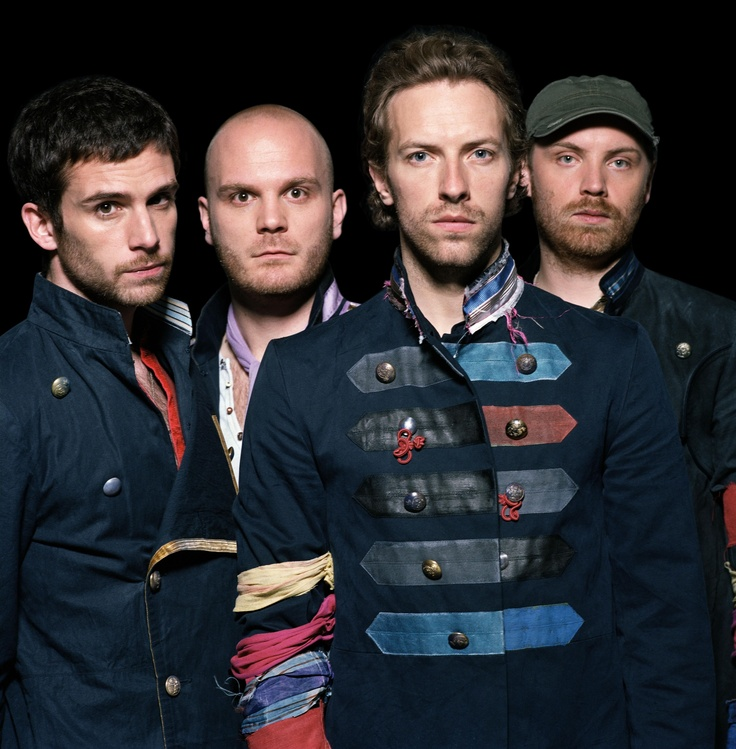COLDPLAY ... going to see them 7/6/12 in Philly  :-)