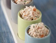 Recette Rillettes aux 2 saumons et à la vodka, notre recette Rillettes aux 2 saumons et à la vodka - aufeminin.com