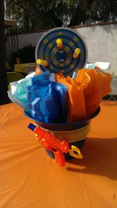 Nerf Party Centerpieces Crafts Pinterest Nerf Party