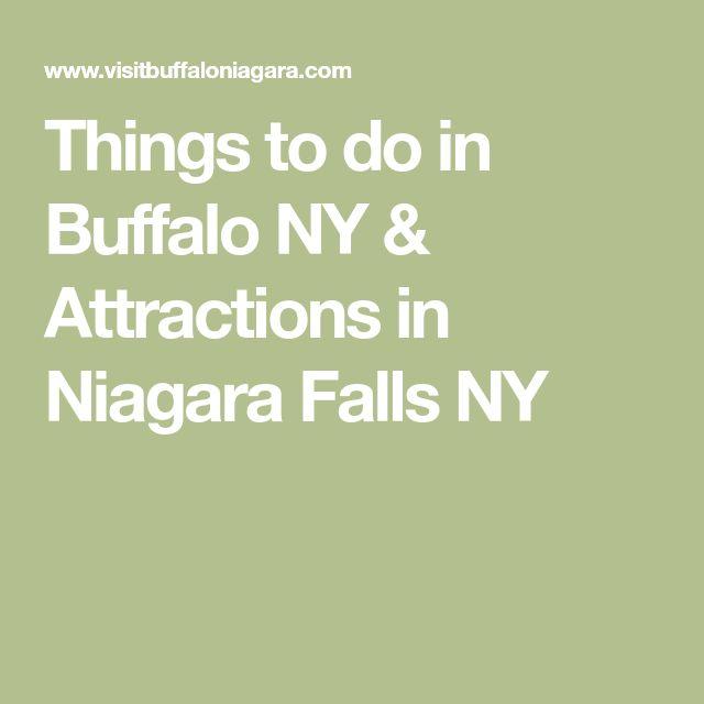 Things to do in Buffalo NY & Attractions in Niagara Falls NY