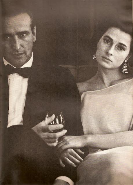 Diane Arbus Elizabeth of Yugoslavia and Howard Oxenberg HARPER'S BAZAAR MAY, 1965 DIVORCED 1966