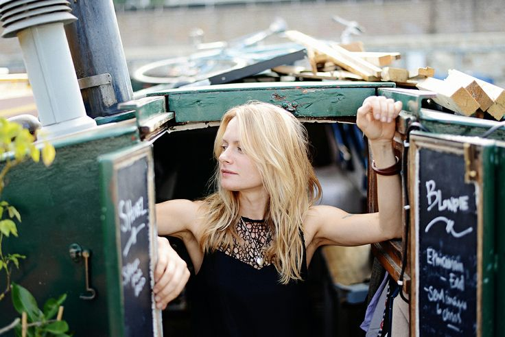 Whistles Women: Step aboard the canal boat home of London based photographer Retts Wood.