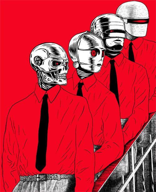...Robots, Metals Boys, Graphics Inspiration, Graphics Illustration, Art, Man Machine, Music Stuff, Stars Wars, Christopher Golebiowski