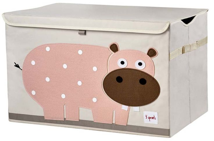 3 Sprouts Toy Chest Pink Hippo 59 95 Limetreekids