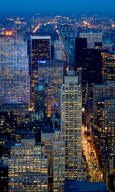New York night../// New York City at Dusk