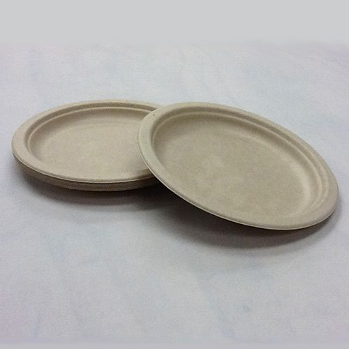 wheat 9 inch bagasse plate