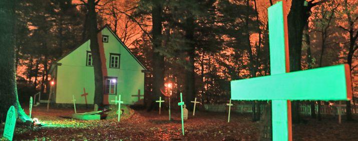 Le Village Hanté du Village Québécois d'Antan de Drummondville.