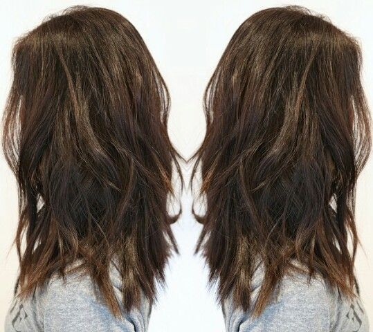 what is a soft a line undercut long layers straight - Google Search